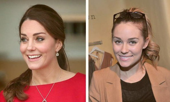 The Duchess of Cambridge and Lauren Conrad.