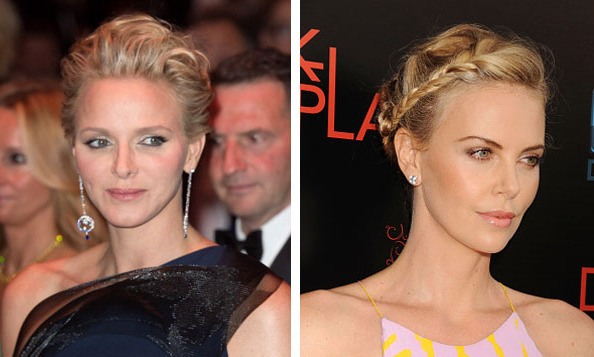 Princess Charlene of Monaco and Charlize Theron.