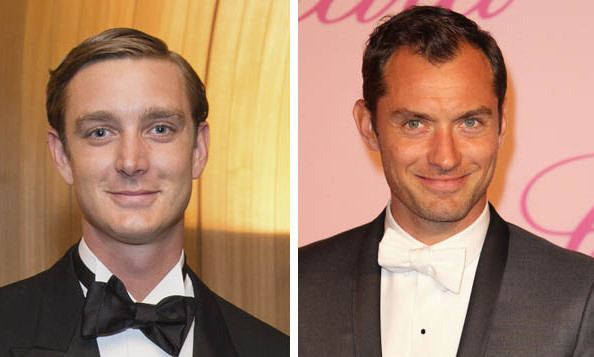 Pierre Casiraghi of Monaco and Jude Law.