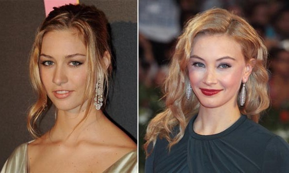 Beatrice Borromeo and Sarah Gadon.