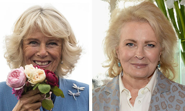 The Duchess of Cornwall and TV legend Candice Bergen.