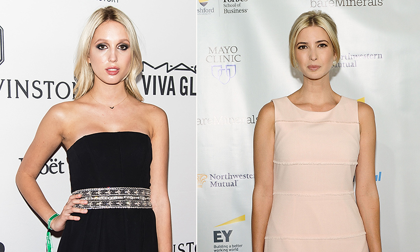Princess Olympia of Greece and Ivanka Trump. 