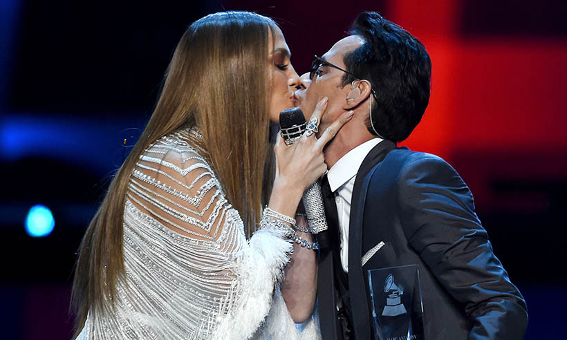 Jennifer Lopez had nothing but love for her ex-husband and father of her children Marc Anthony at the 2016 Latin GRAMMY Awards. The <i>Shades of Blue</i> actress performed a duet with her former love, who was named Person of the Year at this year's ceremony. 