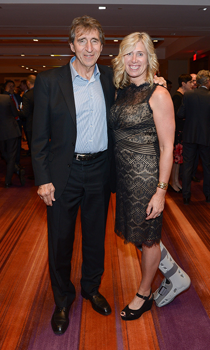 David Patchell Evans and Silken Laumann
