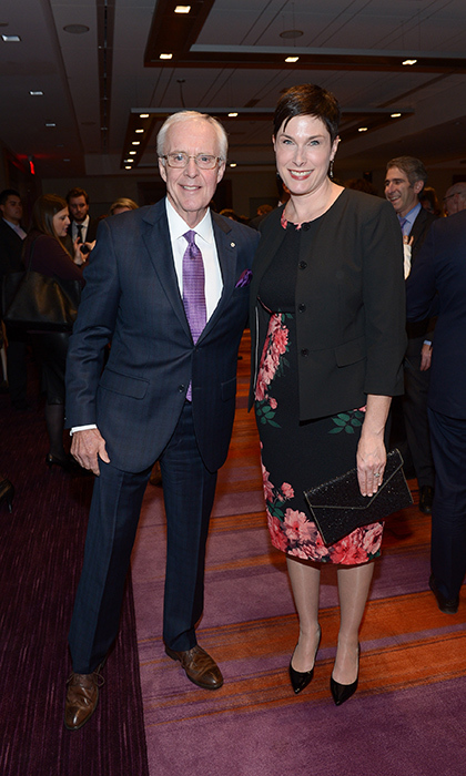 Brian Williams and Lori Smith