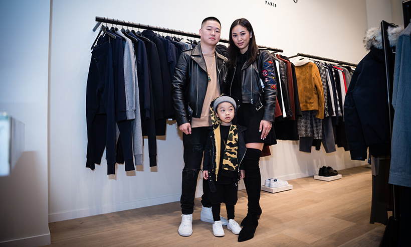 William Nguyen, Julie Tran and Benjamin Nguyen