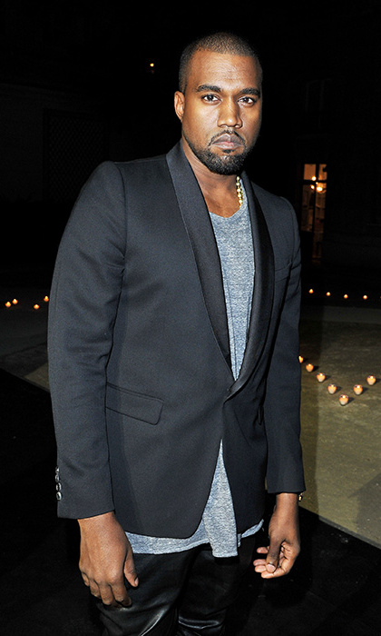 Kanye West has been hospitalised in Los Angeles suffering from exhaustion.