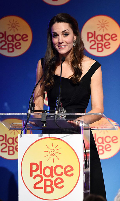 The Duchess delivered a speech praising all those involved in the mental health charity. 