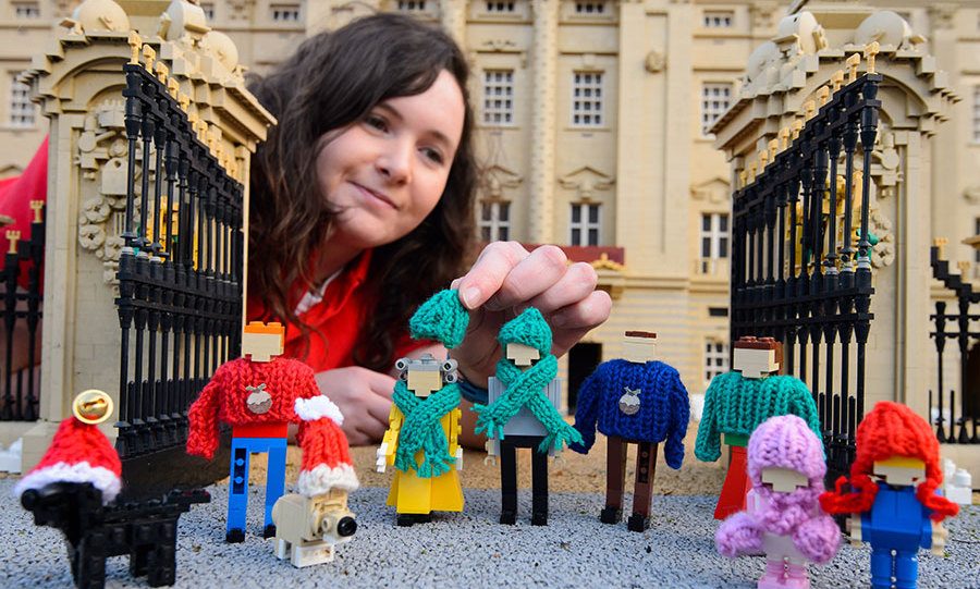 LEGOLAND Windsor Resort have prepared a spectacular royal display this year.<br>Photo: &copy; Rex