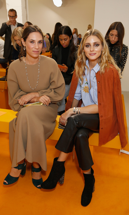Andrea and Tatiana have found fashionable friends in It-couple Olivia Palermo and model husband Johannes Huebl.<p>Photo: © Getty Images</p>
