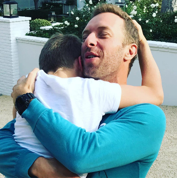 "Gwyneth Paltrow shared an adorable snap of her ex-husband Chris Martin's sweet reunion with their son Moses ahead of Thanksgiving. ""Here is to reunions, togetherness, family, and love love love. Happy thanksgiving eve, everyone. Love, gp"" wrote the actress. 