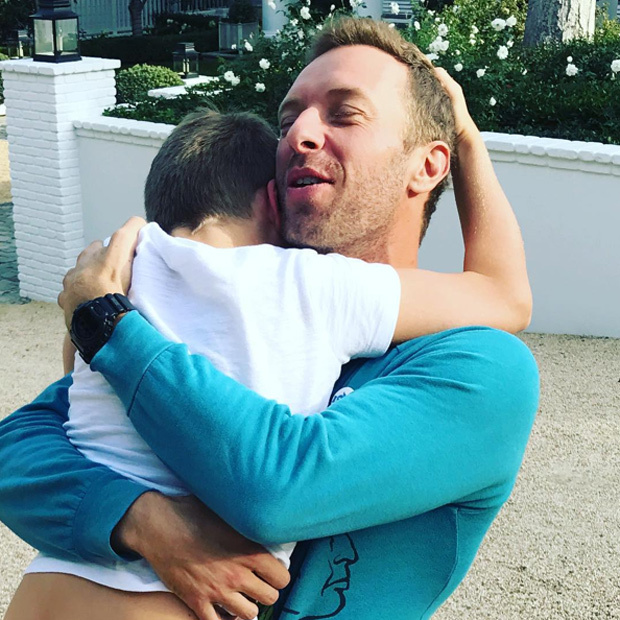 Gwyneth Paltrow and Chris Martin are celebrating Thanksgiving like they always have: as a family. The Goop founder posted this sweet photo of her ex-husband with their son Moses.