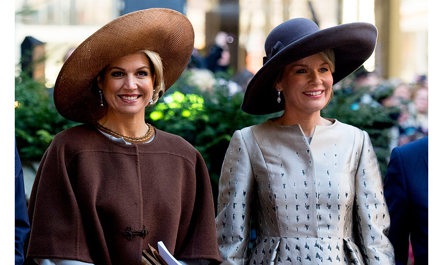 "Maxima had a ""hat off"" with her close friend Queen Mathilde  during the Belgian royals visit to Amsterdam on Nov. 28.