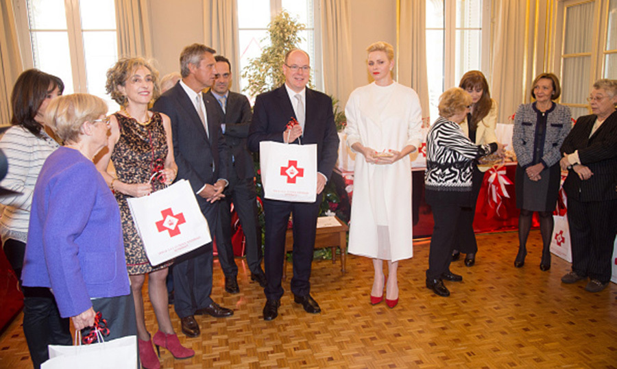 Prince Albert II of Monaco and Princess Charlene stepped out in the name of philanthropy, visiting the Monaco Red Cross Headquarters.<br>Photo: &copy; Getty Images