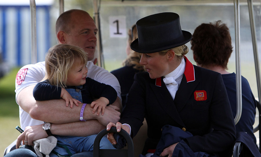 Zara and Mike Tindall share daughter Mia.<br>Photo: &copy; PA