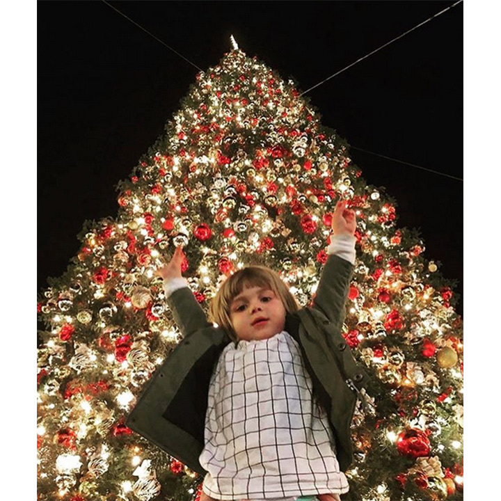 Jaime King's adorable son James is ready for the festive season!