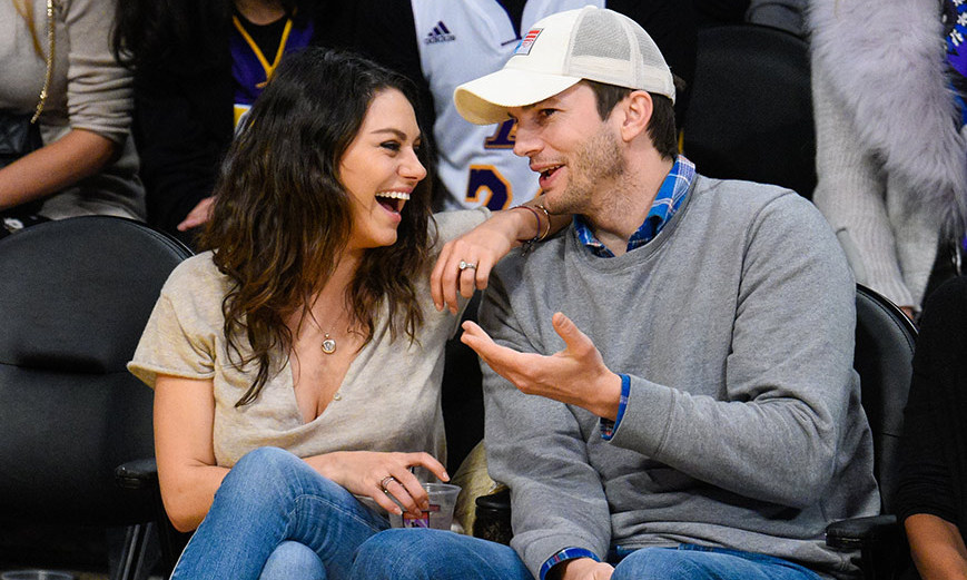Ashton Kutcher Mila Kunis Started Dating