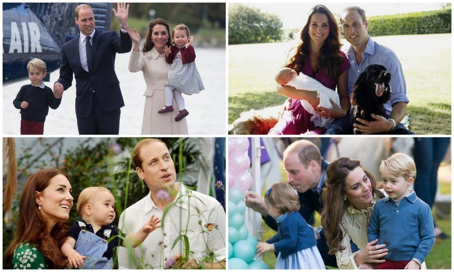 From a young family of three to an even more adorable foursome — my how the Cambridges have grown! Take a look back at Prince William and Kate's sweet family portraits and photos with their kids, Prince George and Princess Charlotte.