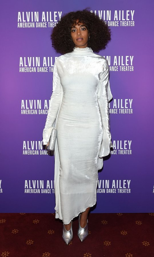 Solange Knowles rocked her signature standout style at the Ailey and Jazz opening night gala at New York City Center.
