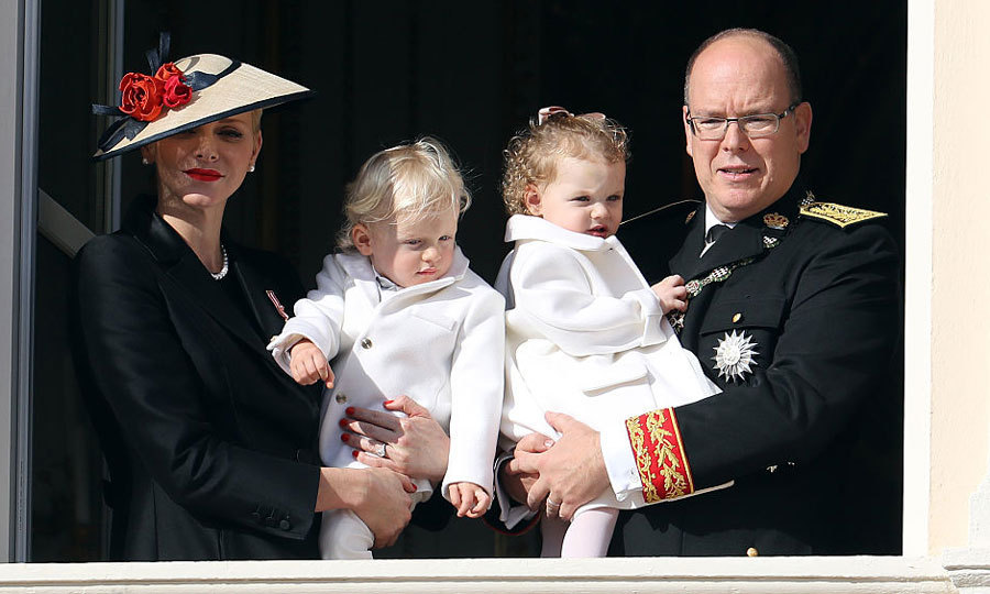 November 2016: Prince Jacques and Princess Gabriella joined their mom and dad — Princess Charlene and Prince Albert — on the balcony of the Monaco Palace for the country's National Day celebrations. 