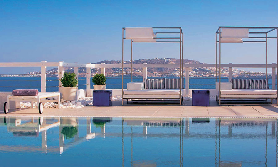 <h2>GRACE MYKONOS, GREECE</h2><p><strong>Best for ... Post-revelry recharging</strong></p><p><strong>The stay:</strong> After a heady dose of island hedonism, duck out of the action and into the white-on-white haven that is Grace Mykonos. With its super-sized loungers and chirpy staff fetching iced towels and juices to satisfy your every whim, you'll leave feeling marvellously spoiled.</p><p>The stunning rooms are drenched with sunlight, many have sweeping Aegean views and a pillow menu comes as standard. Tuck into just-caught red mullet washed down with a glass of white before retreating to your den for a candlelit soak. This island may be famous for its wild party scene but you'll leave feeling lighter and more chilled-out than ever.</p>