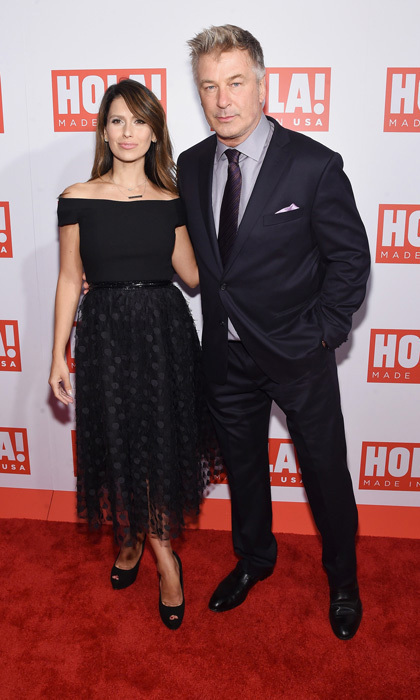 Alec and Hilaria hosted the launch of <em>HOLA!</em> USA in September.