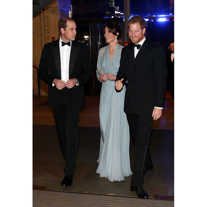 William, Kate and Harry will attend a charity Christmas party on 19th December.