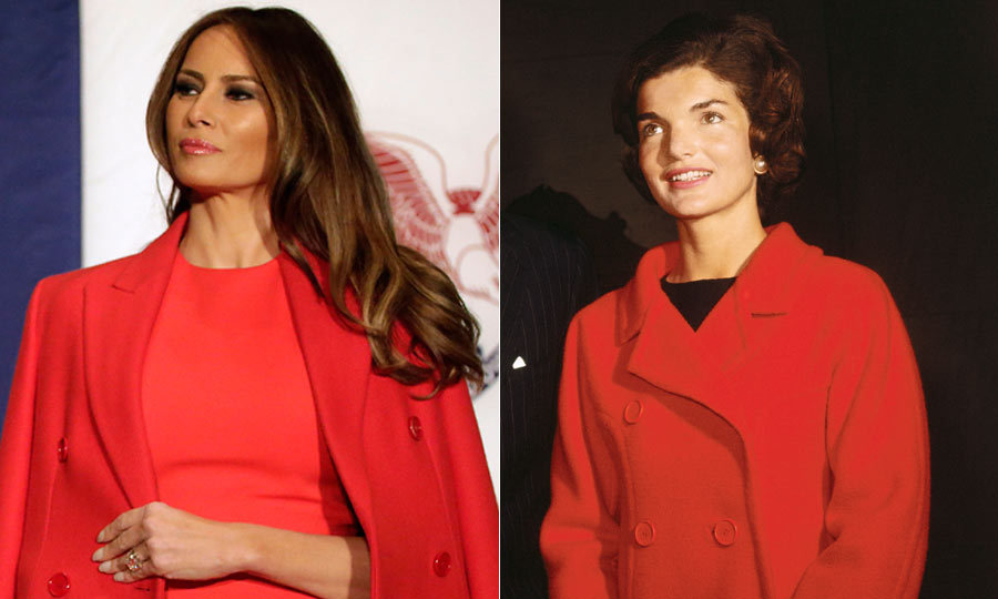 <h2>Melania Trump</h2><p>The incoming First Lady makes no secret of her admiration for Jackie's fashion sense. 'She had a very beautiful, elegant, simple