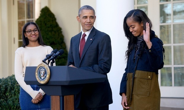 "Malia may be 18, but Michelle insists that she is still ""a baby.""