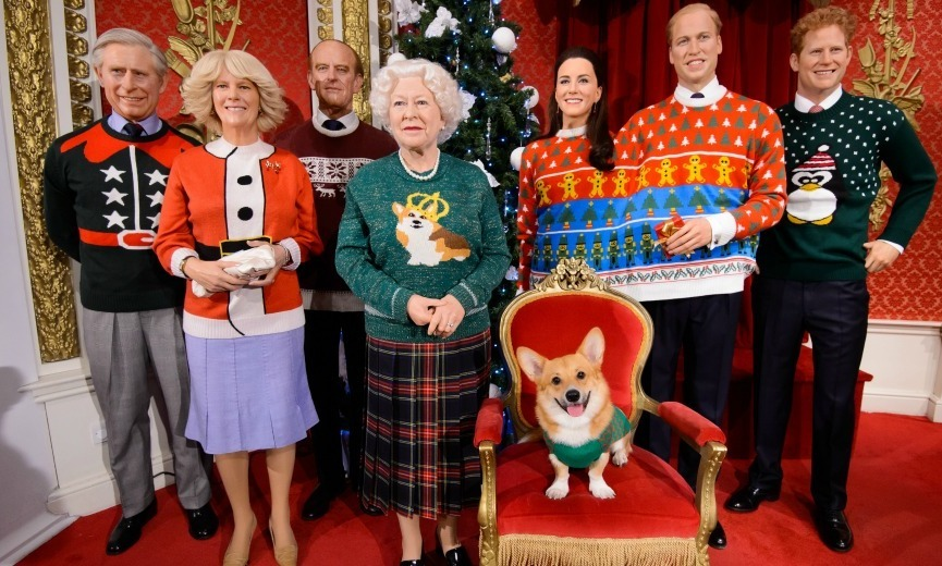 Madame Tussauds London and Save the Children unveiled a special set of wax figures featuring the Queen, Prince Philip, Prince Charles, Camilla Duchess of Cornwall, Prince William, Kate Middleton and Prince Harry in hilarious festive sweaters. A rep told <strong><em>Hello!</em></strong> that the royal family gave written permission for the fun exhibit to take place.