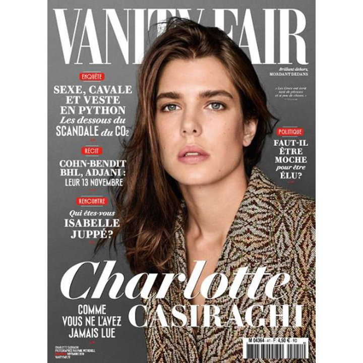 Fashion photographer Paul Wetherell shot Charlotte Casiraghi for the November 2016 issue of <i>Vanity Fair France</i>. Inside the pages, the mother of one talks philosophy and being in the public eye. 