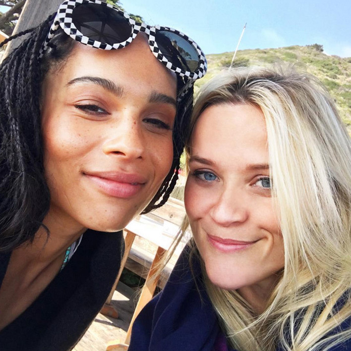 Also on the birthday train was Reese Witherspoon, who wished her <em>Big Little Lies</em> co-star Zoë Kravitz a Happy Birthday on Dec 1. 