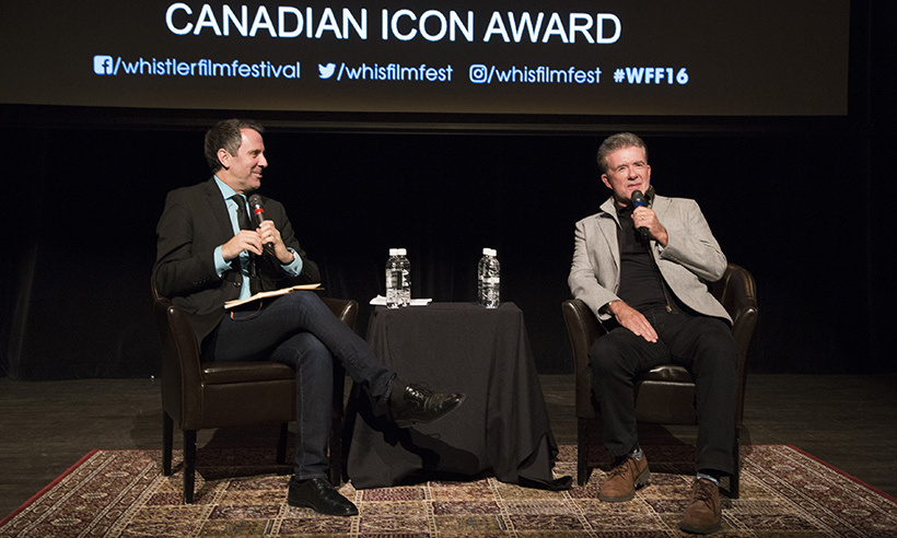 "A few weeks before his death, Alan travelled to British Columbia to accept the Whistler Film Festival's Canadian Icon Award. He participated in a panel during the event and later expressed his gratitude on Instagram, writing, ""Thanks to Whistler Film Fest for the Icon Award. I promise to try and stay iconic.""