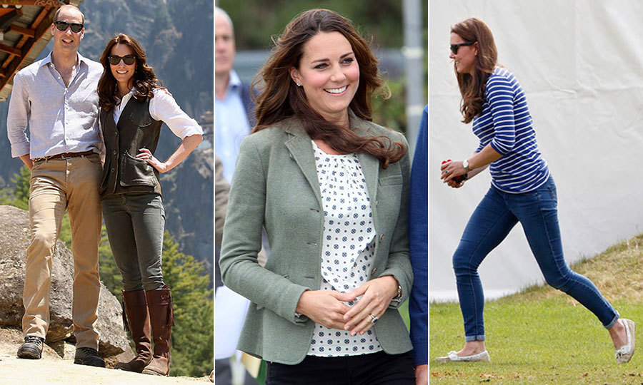 "We're used to seeing <a href=""/tags/0/kate-middleton/"" target=""_blank"">Duchess Kate</a> in her nude high heels and stylish designer dresses, but the reality of her life in Norfolk is a lot more laid back. Day to day, Kate's a mom to two rambunctious children, and looking good while taming toddlers can be quite the challenge. As ever, Kate manages to add her own elegant style to her low-key mummy uniform, toeing the line between fashion and function. <em>Hello!</em> takes some tips from the hands-on royal mum..."