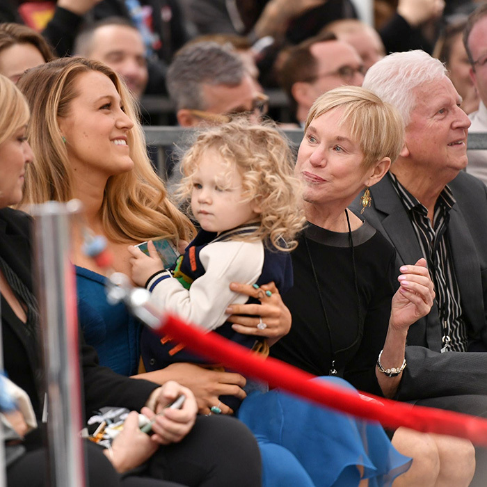 Ryan's mom Tammy was also in attendance. 