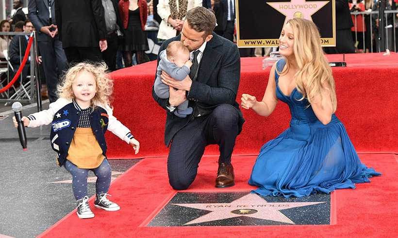 Little James didn't shy away from all the attention. 