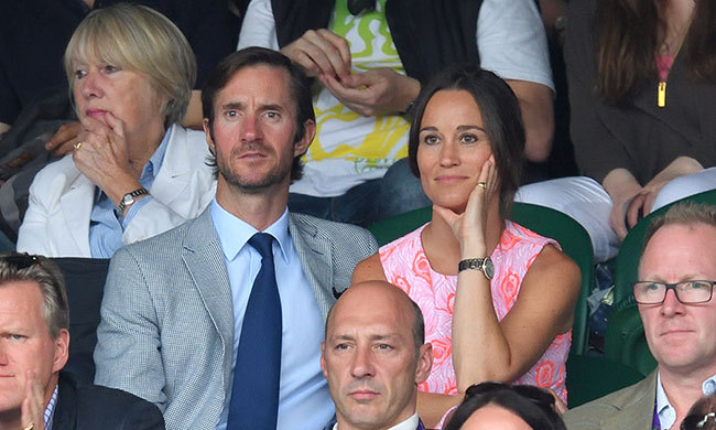 No doubt Pippa Middleton's upcoming wedding will be a topic at the Middleton Christmas dinner table. 