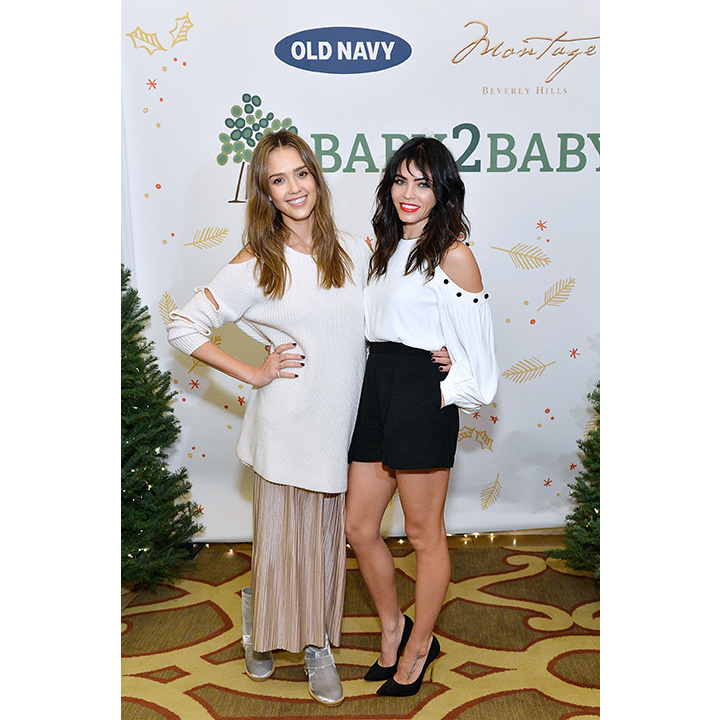 December 18: Jessica Alba and Jenna Dewan-Tatum had a mom date night at the Baby2Baby Holiday Party in Beverly Hills. 