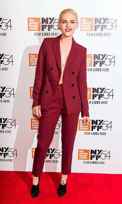 "<a href=""/tags/0/kristen-stewart/"" target=""_blank"">Kristen Stewart</a> was the lady in red at the <em>Certain Women</em> premiere during the 54th New York Film Festival in New York City.
