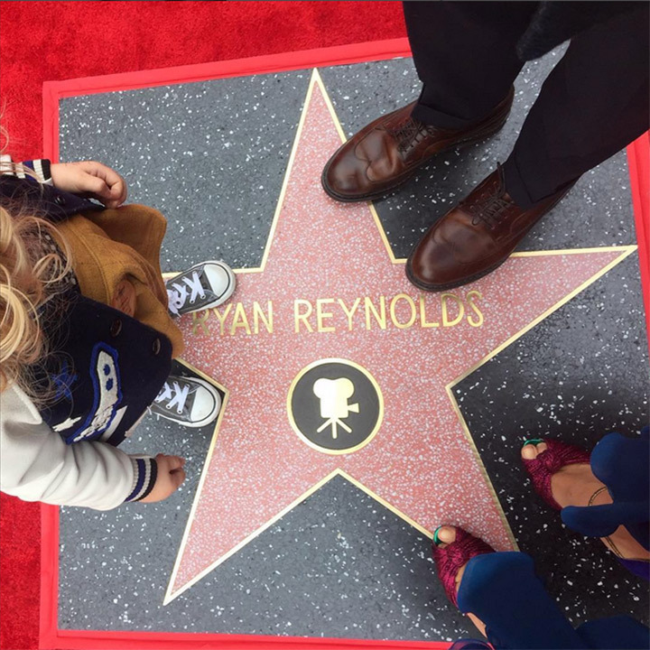 "Blake Lively celebrated Ryan Reynolds' star on Hollywood's Walk of Fame by posting the most loving message on Instagram. ""Proud is a pitiful word to describe how I felt today. @vancityreynolds The permanence of your impact is undeniable ...Always has been, but now we have a fancy to show for it. ""