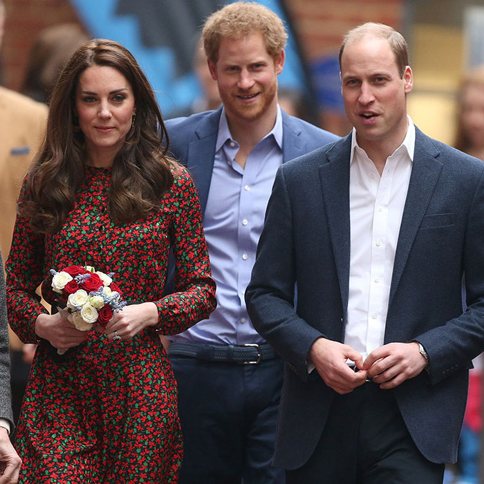 The royals attended a party hosted by youth charity The Mix in North Kensington, on Monday.