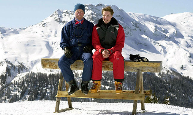 <h3>Klosters, Switzerland</h3><p>This glamorous resort is Prince Charles' go-to winter break destination – the royal has been hitting its slopes for years and even brought Prince William and Prince Harry for a father-son trip in 2005 ahead of his wedding to the Duchess of Cornwall. In fact, Charles is such a regular that two cable cars at the resort are named after him!</p><p>Located just an hour and a half from Zurich, this quaint village is renowned for its luxurious chalets and lodges, as well as boasting Michelin-starred restaurants and cosy après-ski bars to sip on mulled wine and relax after a day taking on the pistes of its breathtaking mountains.</p><p>Photo: &copy; PA Images</p>