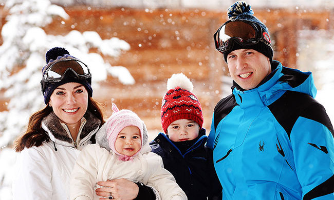 "<h3>The French Alps</h3><p>One of Prince William and Kate's favourite ski destinations, the couple chose the idyllic mountains for their <a href=""/royalty/02016112531191/prince-william-kate-middleton-christmas-plans-george-charlotte/"" target=""_blank"">first holiday as a family of four with Prince George and Princess Charlotte</a>. William and Kate reportedly chose to stay in the town of Courchevel for the break and delighted royal fans when they shared a series of sweet family portraits during their winter adventures.</p><p>The French Alps host a wide range of iconic skiing resorts including Chamonix, Alpe D'huez and Courchevel, providing ample opportunity to find the break that's right for you. Dine on delicious French cuisine or enjoy off-slope activities such as riding the Olympic bobsled at Paradiski.</p><p>Photo: &copy; PA Images</p>"