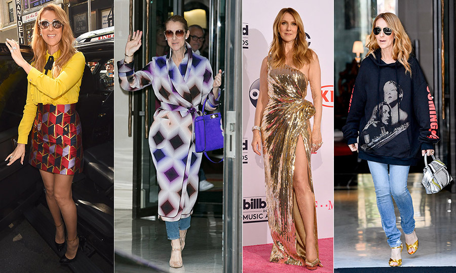 Best Of 2016 Celine Dion S Most Unforgettable Fashion
