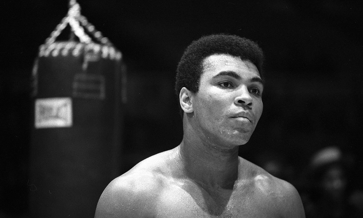 The death of Muhammad Ali 