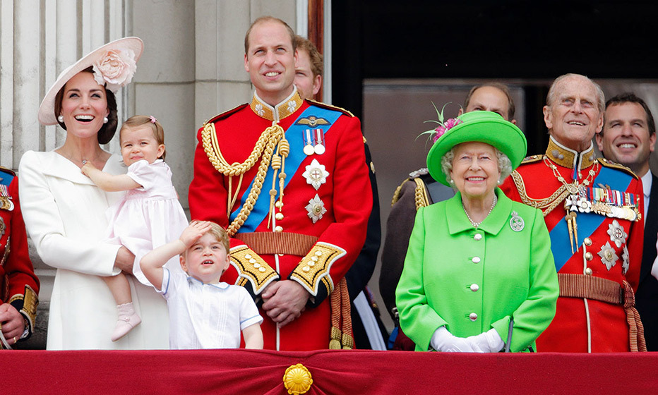 Princess Charlotte makes Trooping the Colour debut