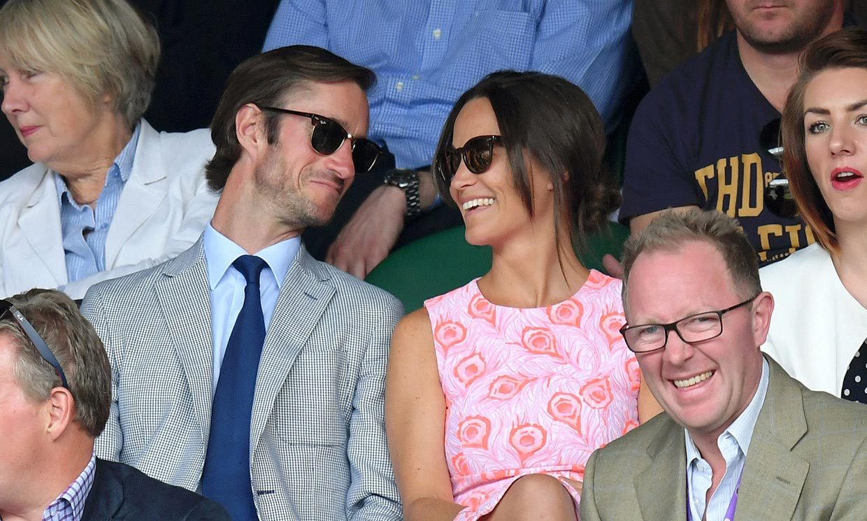 Pippa Middleton announces her engagement to James Matthews