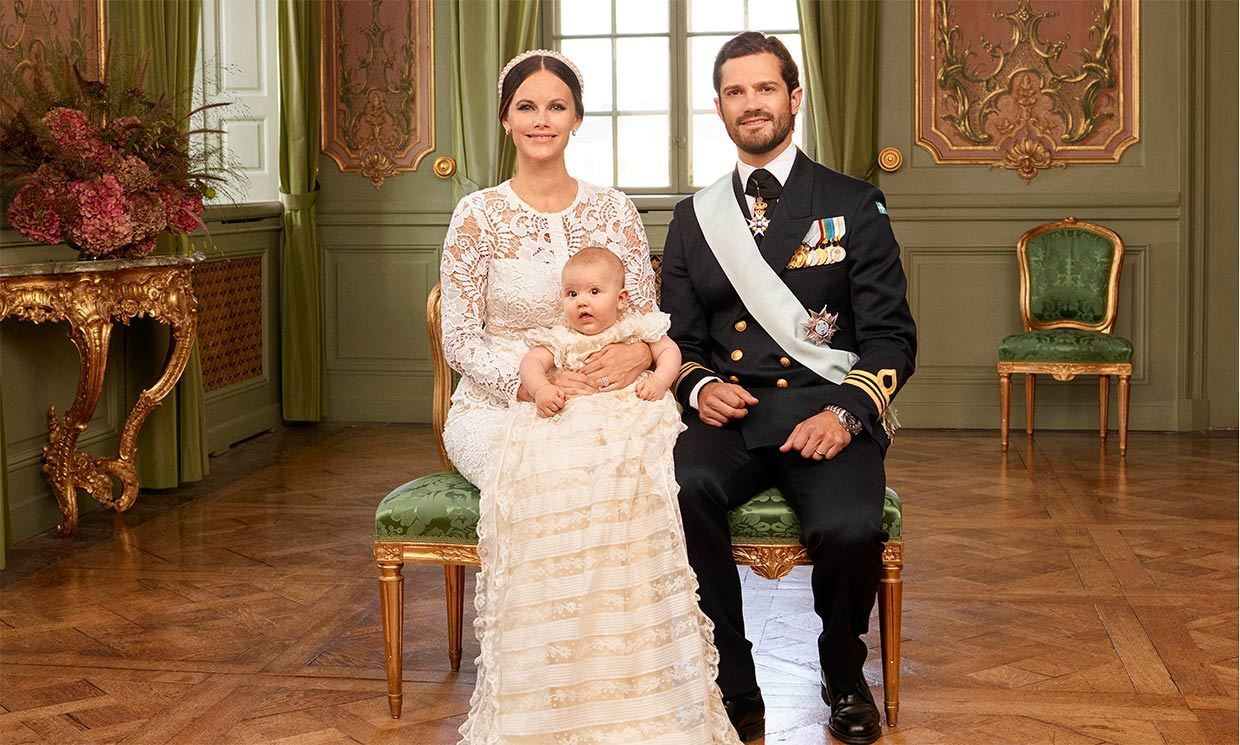 Prince Alexander of Sweden's christening