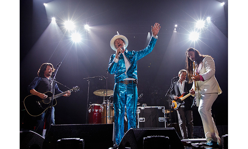 The Tragically Hip perform in Kingston