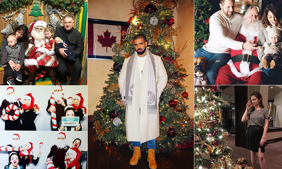 Happy Holidays! With celebrations in full swing, the stars are flocking to social media to show off their eye-catching decorations, gift-giving successes, baked goodies and more!